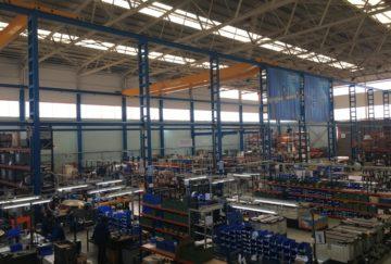 Instalación eléctrica nave industrial