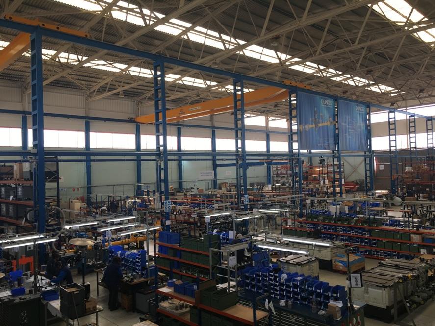 instalacion electrica nave industrial atelma automatizaciones de maquinaria electrica y de procesos barcelona